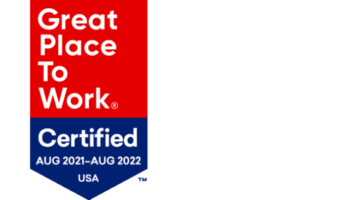 Great Place to Work award image