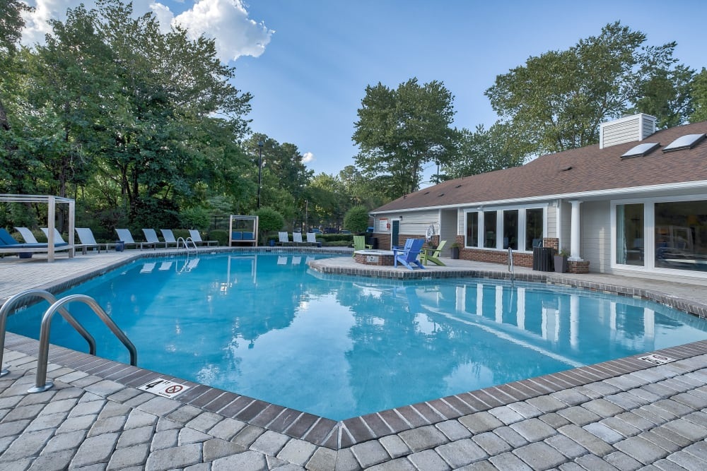 Swimming Pool at Copper Mill Apartments