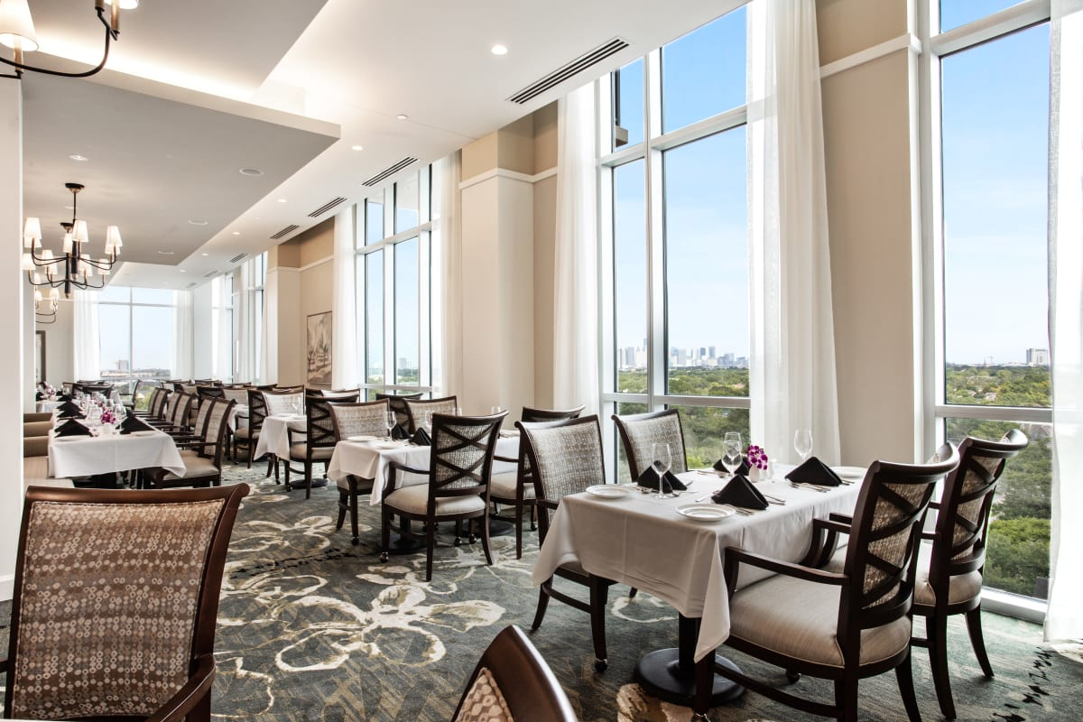 Chef at The Village of Southampton in Houston, Texas