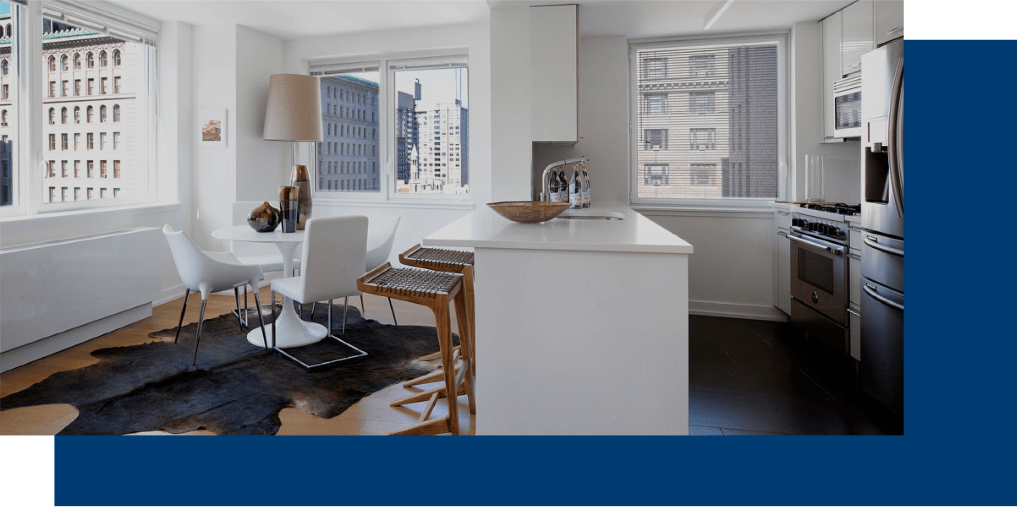 Apartments at The Larstrand in New York, New York