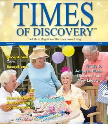 Sumter Senior Living magazine cover