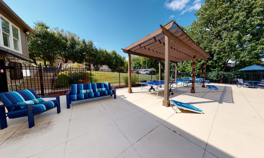 Poolside Lounge at The Residences at Stonebrook in Nashville, Tennessee
