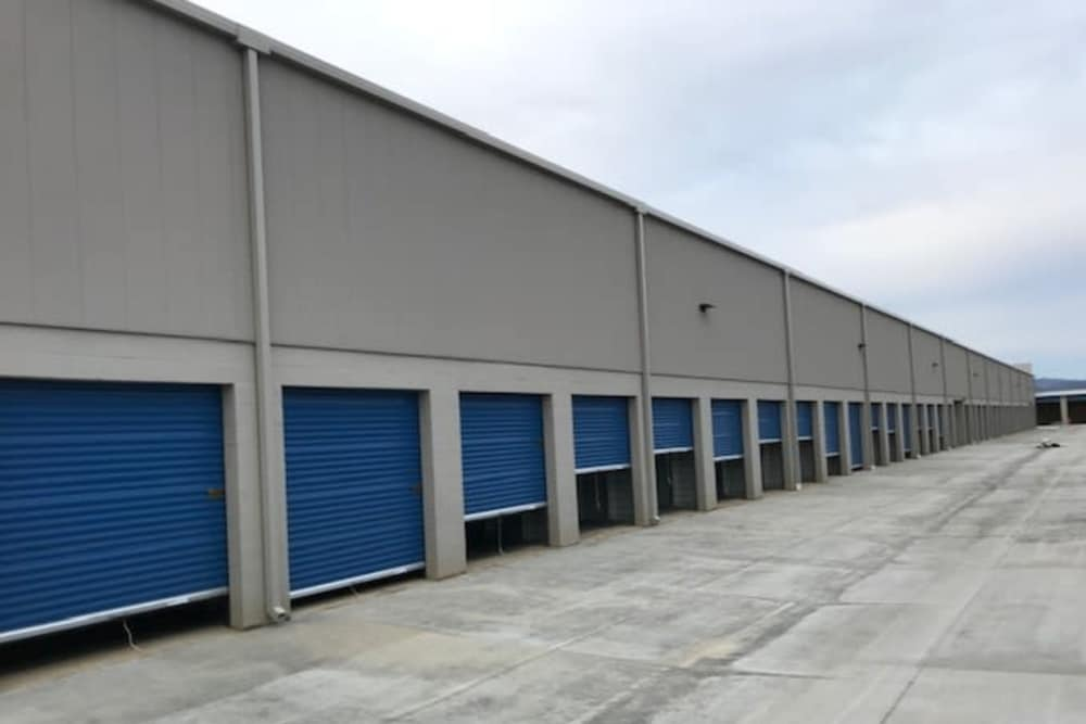 Many large drive-up units at Silverhawk Self Storage!