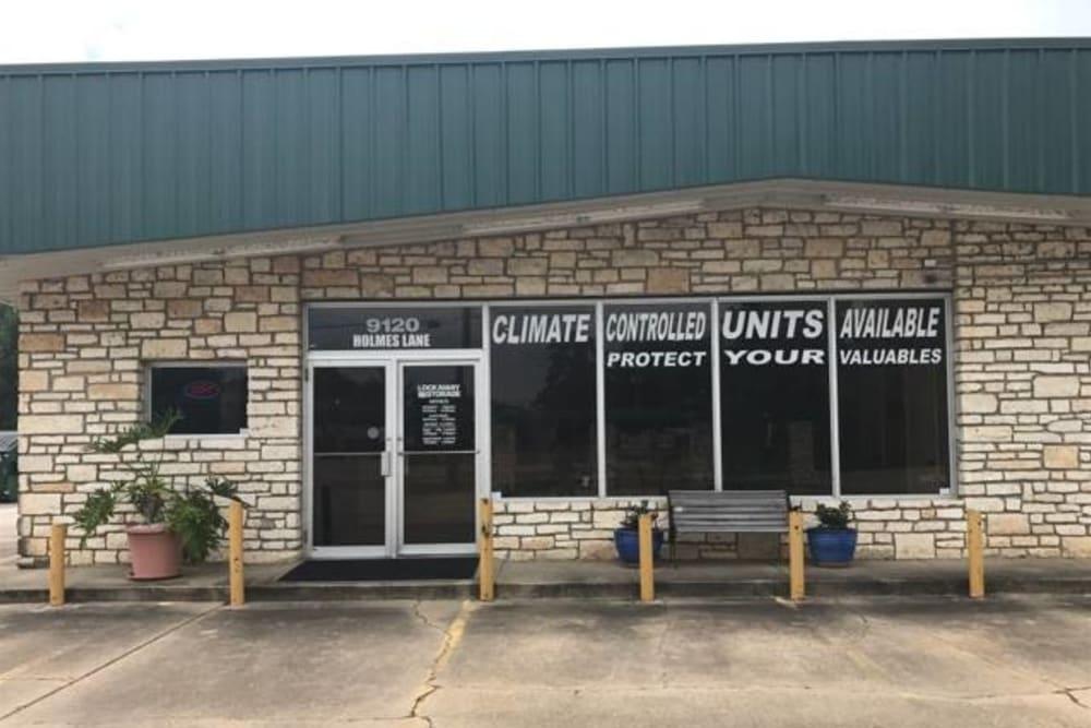 Front Office Exterior Texarkana, Texas near Lockaway Storage
