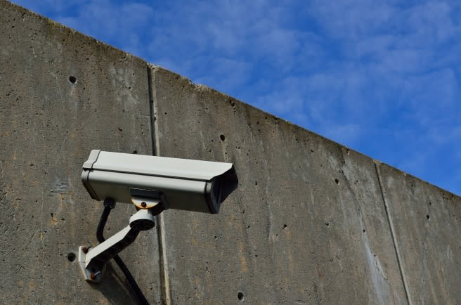 security camera to monitor storage unit facility