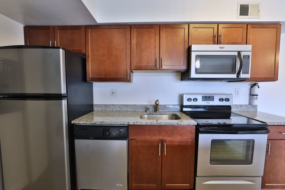 Spacious Kitchen at Tamarron Apartment Homes in Olney, Maryland