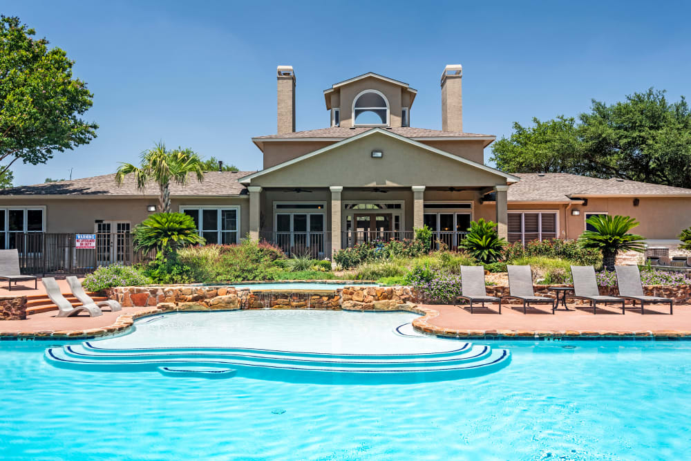 Swimming Pool at Salado Springs Apartments