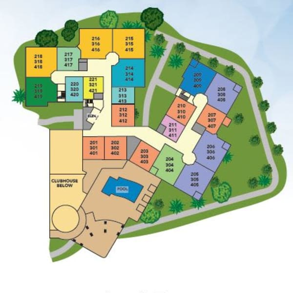 Site Plan for Independent Living in Melbourne, FL