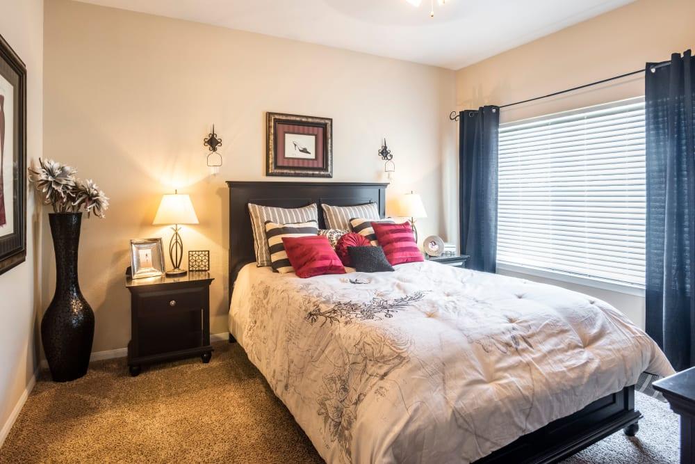 Bedroom at Salado Springs Apartments in San Antonio, Texas
