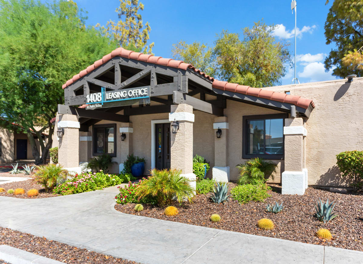 Leasing office of 1408 Casitas at Palm Valley in Avondale, Arizona