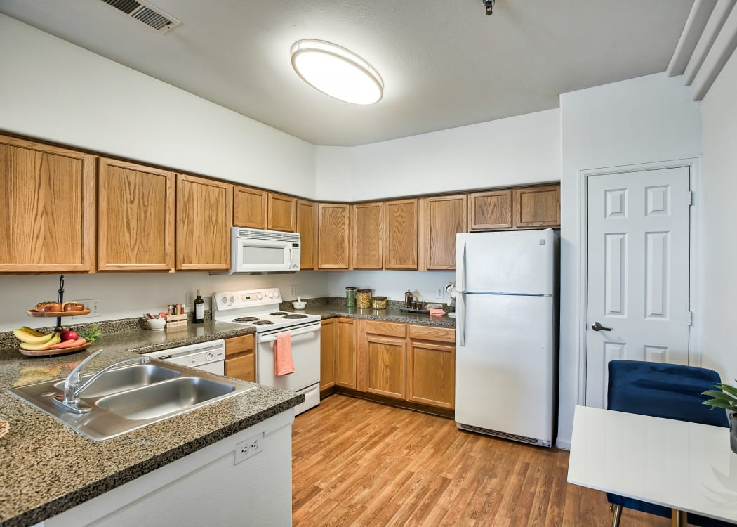 Kitchen at Vistas at Stony Creek Apartments