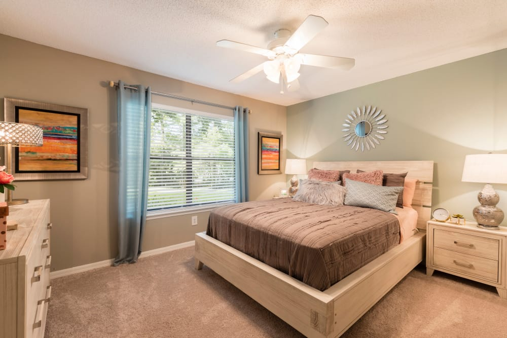 Bedroom at The Fountains at Lee Vista in Orlando, FL