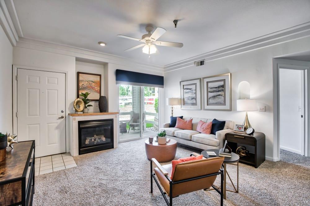 Apartment interior at Vistas at Stony Creek Apartments in Littleton, Colorado