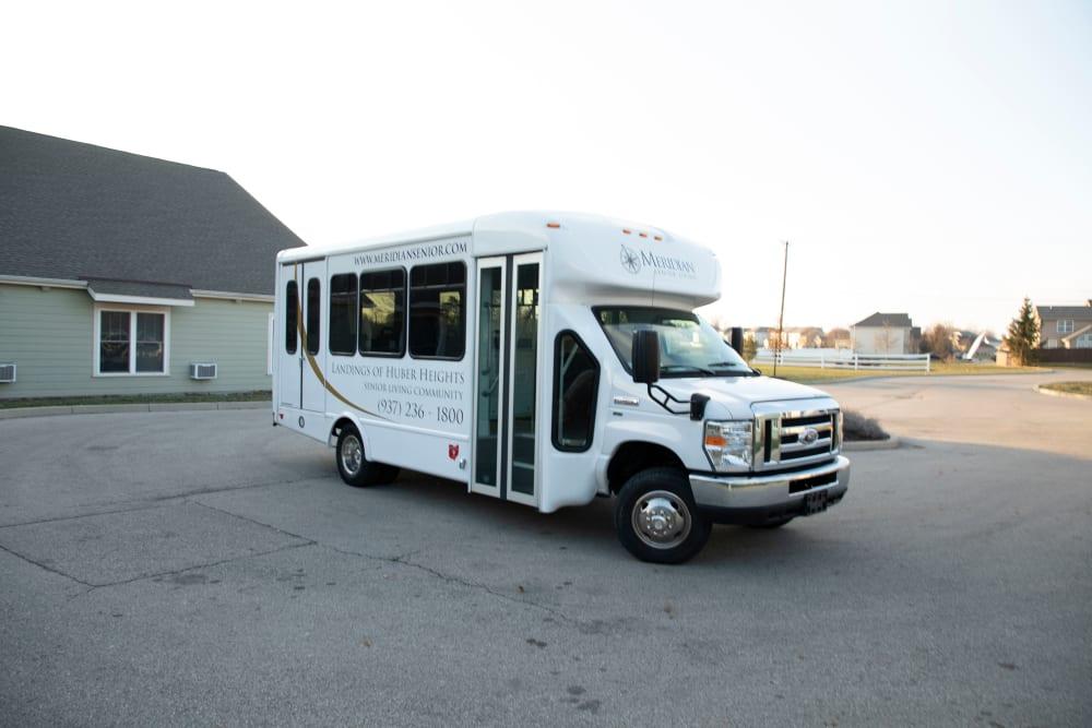Bus at Landings of Huber Heights in Huber Heights, Ohio
