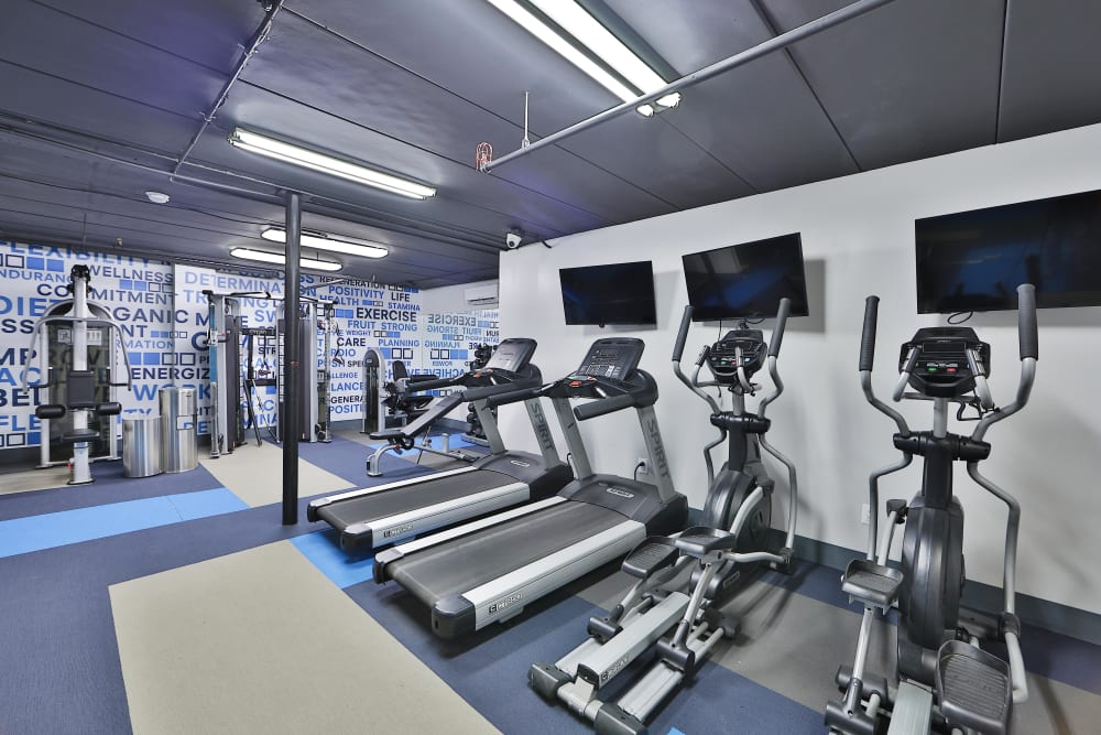 Gym at Bennington Crossings Apartment Homes in Alexandria, Virginia