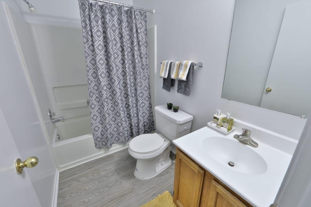 Bright Bathroom Tamarron Apartment Homes in Olney, Maryland