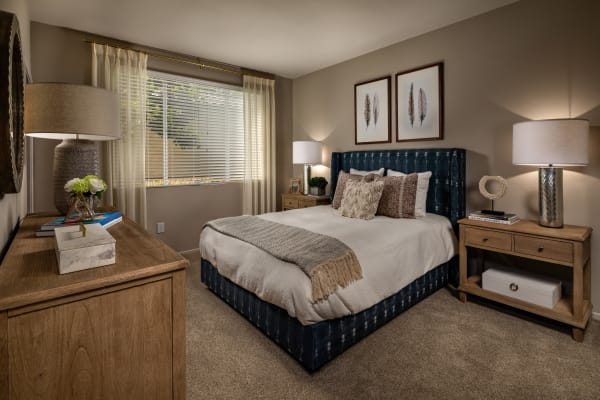 Bedroom at Castlerock at Sycamore Highlands in Riverside, California