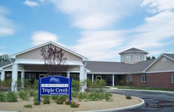Link to Ridgewood Health Campus's Triple Creek Retirement Community location