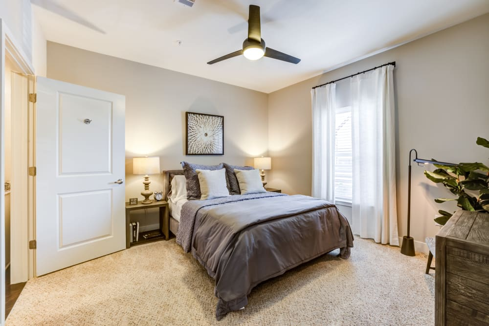 Second bedroom at Rivertop Apartments in Nashville, Tennessee