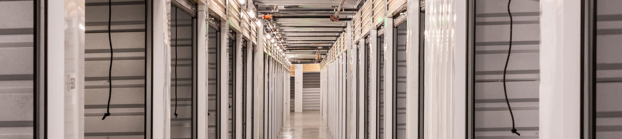 Climate-controlled storage at Cubes Self Storage in Bountiful, Utah