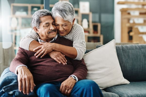 Resident couple at Wellness at Home in Albany, Oregon