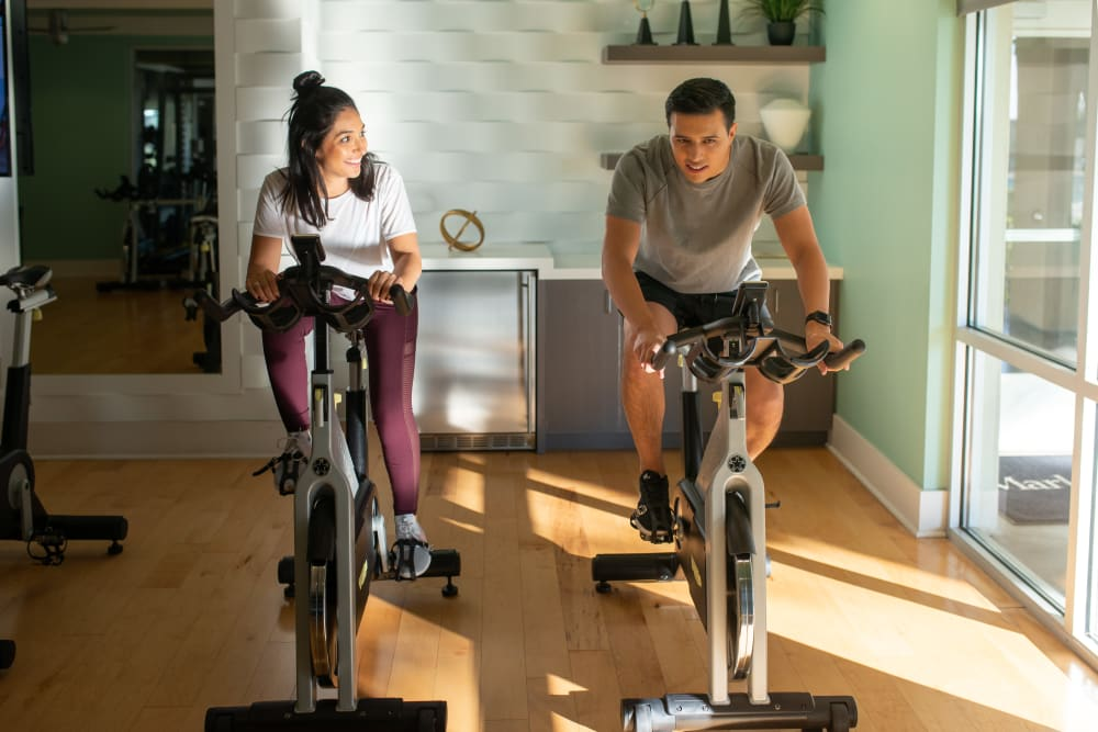Onsite fitness center at Villa Vita Apartments in Peoria, Arizona
