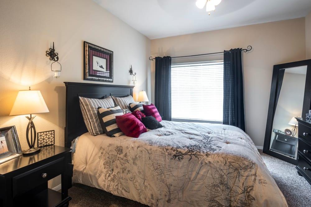 Spacious Bedroom at Salado Springs Apartments in San Antonio, Texas