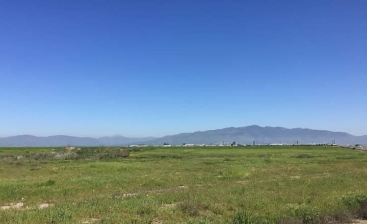 Another view of the proposed site of Sunbreak Ranch in the Otay Mesa area southeast of San Diego, California.