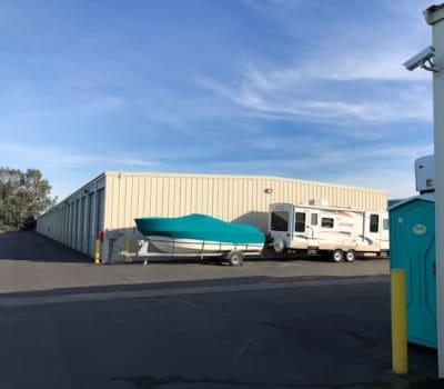 RV boat and auto storage at Terminous RV & Boat Storage in Lodi