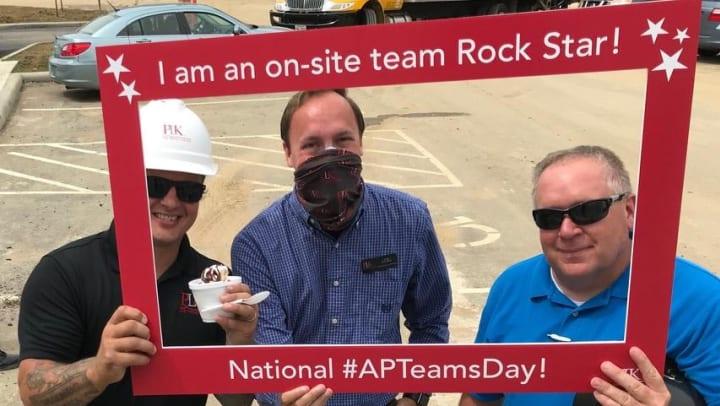 APT Teams day photo celebrating teams day
