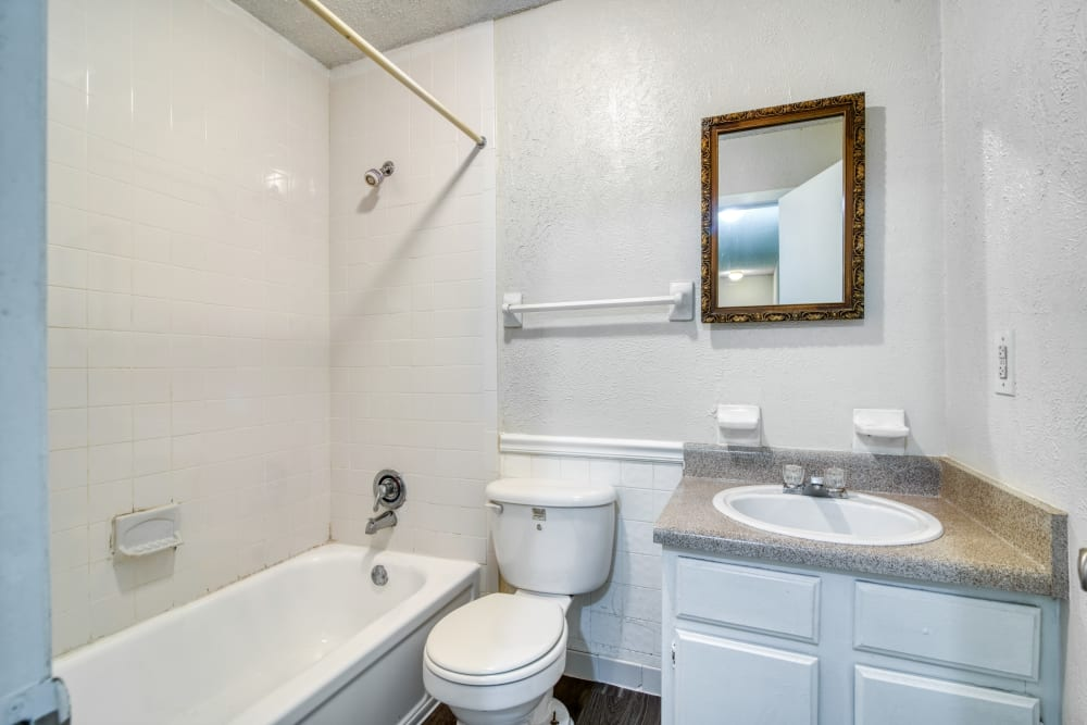Bathroom at Post Ridge Apartments in Nashville, Tennessee