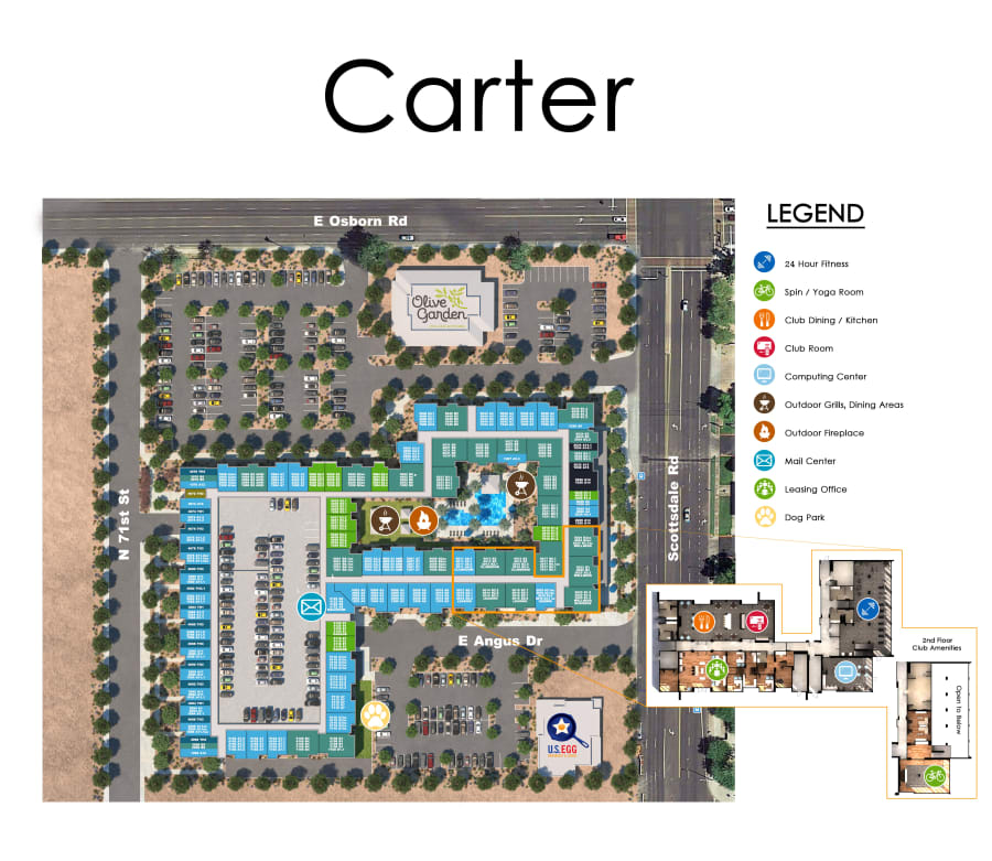 Carter site plan