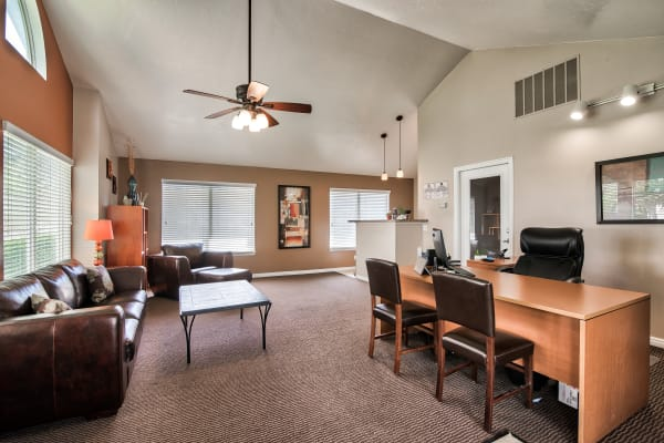 Leasing Office at Cherry Lane Apartment Homes