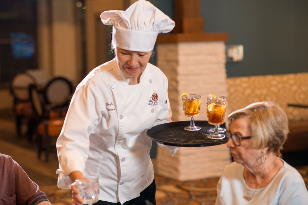 Enjoy fine dining at Integrated Senior Lifestyles communities