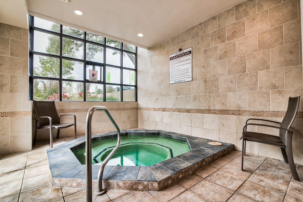 Cherry Creek Apartments offers a Hot Tub in Riverdale, Utah