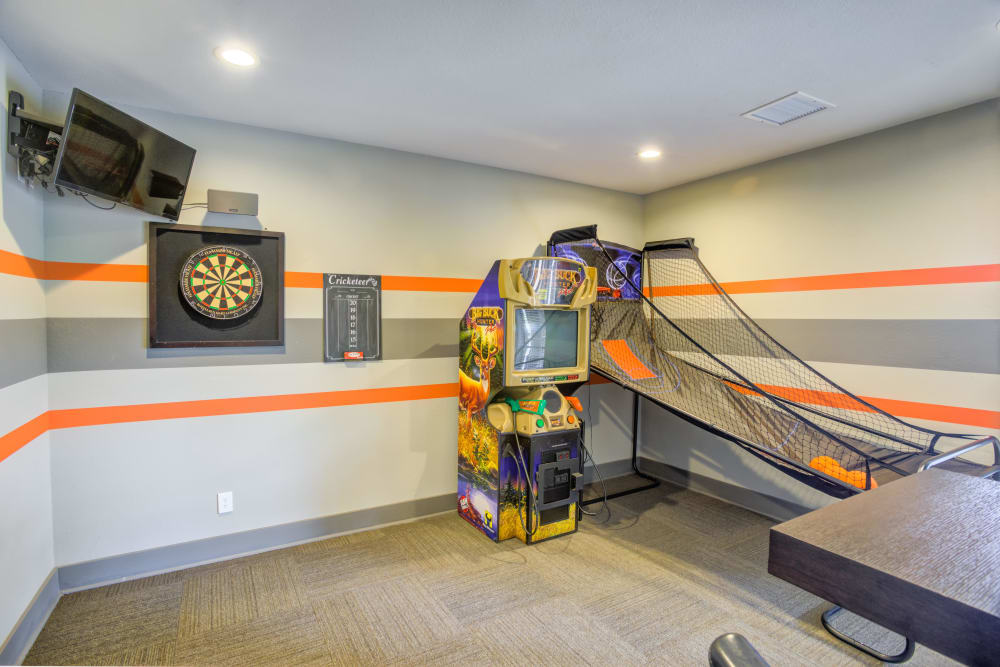 Play room at Enclave at Water's Edge Apartments in Austin, Texas