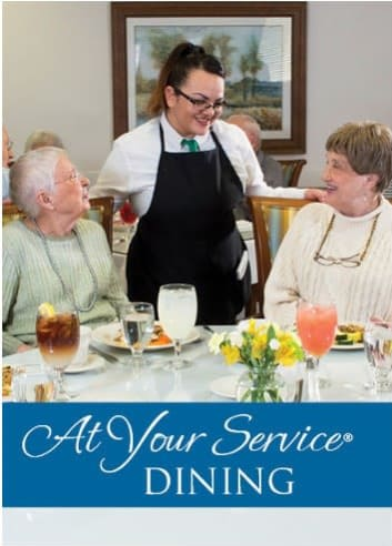 Dining at West Chester Assisted Living and Memory Care