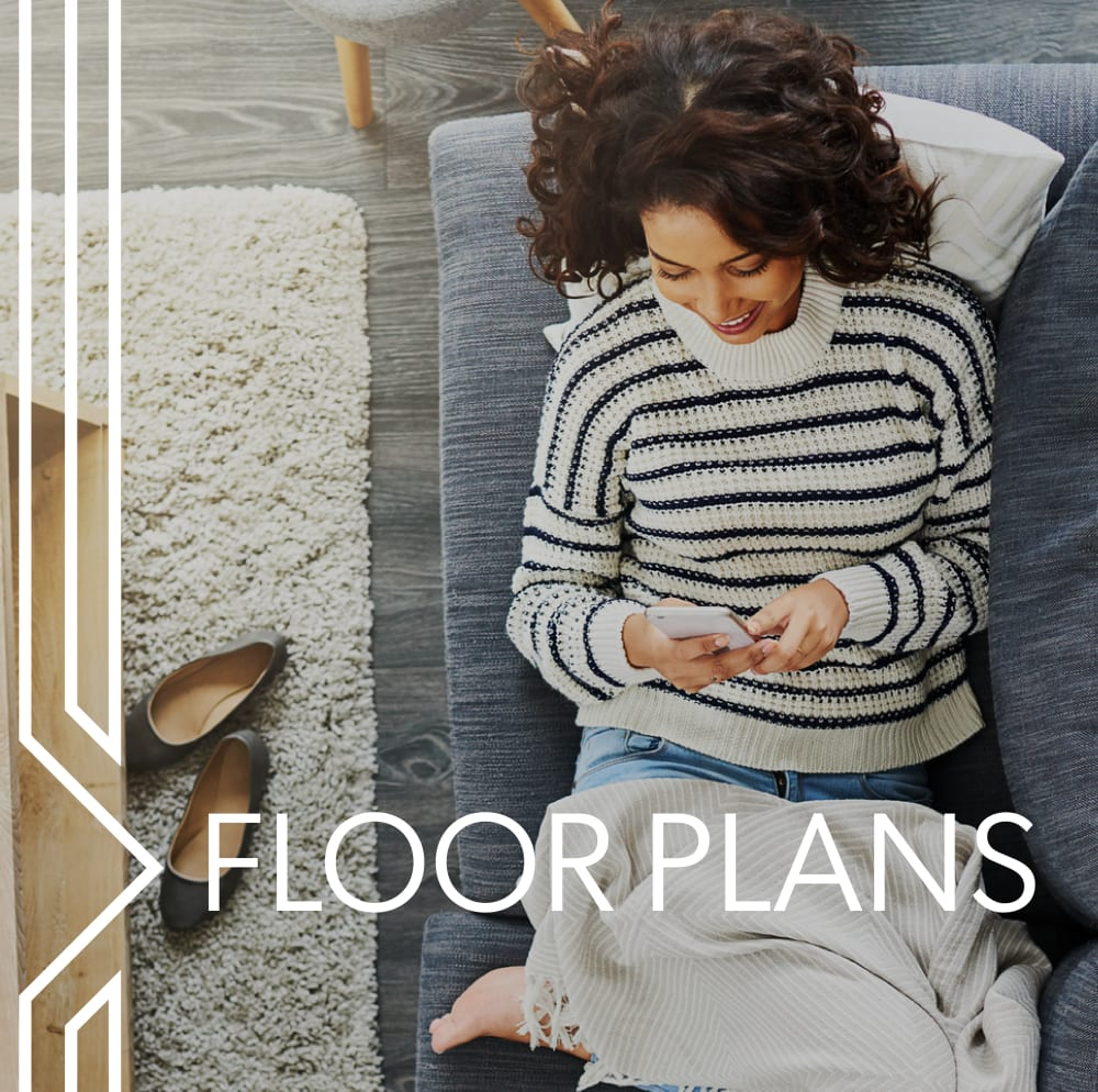 View floor plans at The Station at River Crossing in Macon, Georgia