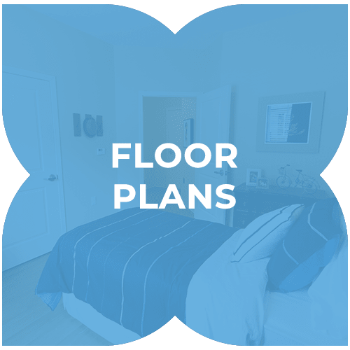 Floor plans at Harmony at State College in State College, Pennsylvania