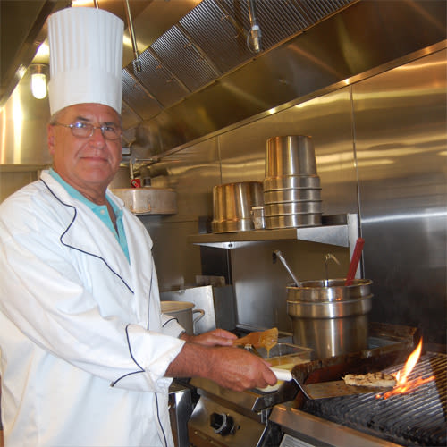 Scott Williamson, Director of Dining Services of Keystone Place at  Buzzards Bay in Buzzards Bay, Massachusetts