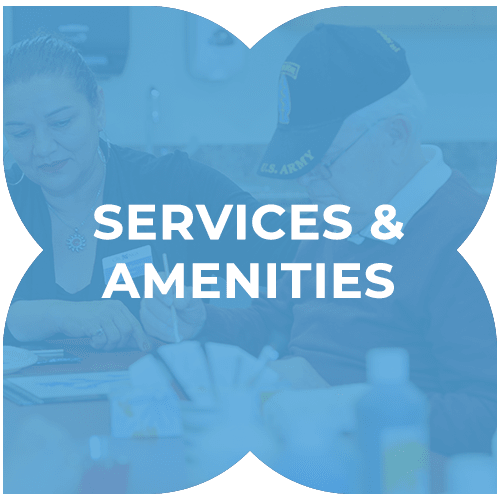 Services and amenities at Harmony at Kent in Dover, Delaware