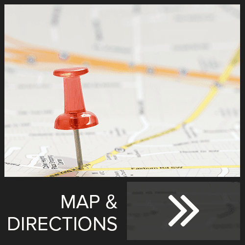 Directions to self storage in Rocklin