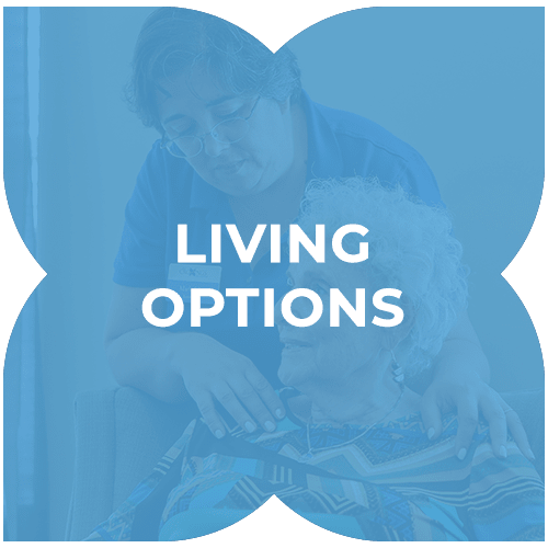 Living options at Harmony at Enterprise in Bowie, Maryland