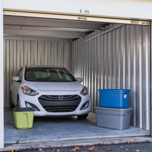 Auto storage at Red Dot Storage in Richton Park, Illinois