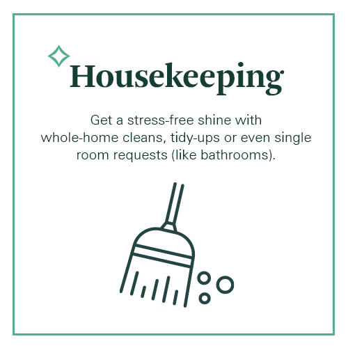 Spurce provides whole home housekeeping or small projects