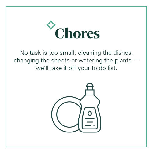 Spruce offers household chore services