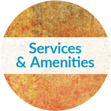 Services and amenities at Someren Glen