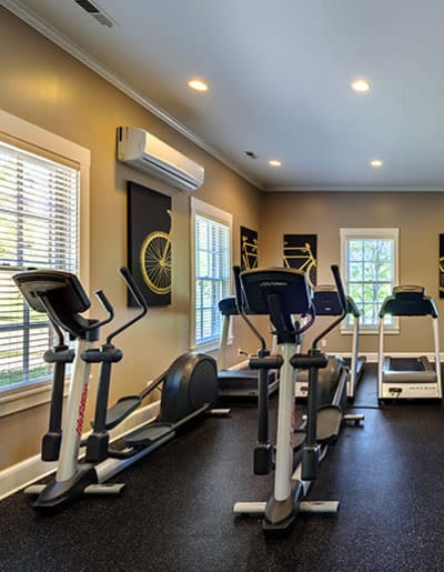 Fitness center at Christopher Wren in Wexford, Pennsylvania