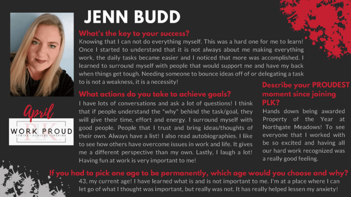 Jenn Budd bio photo