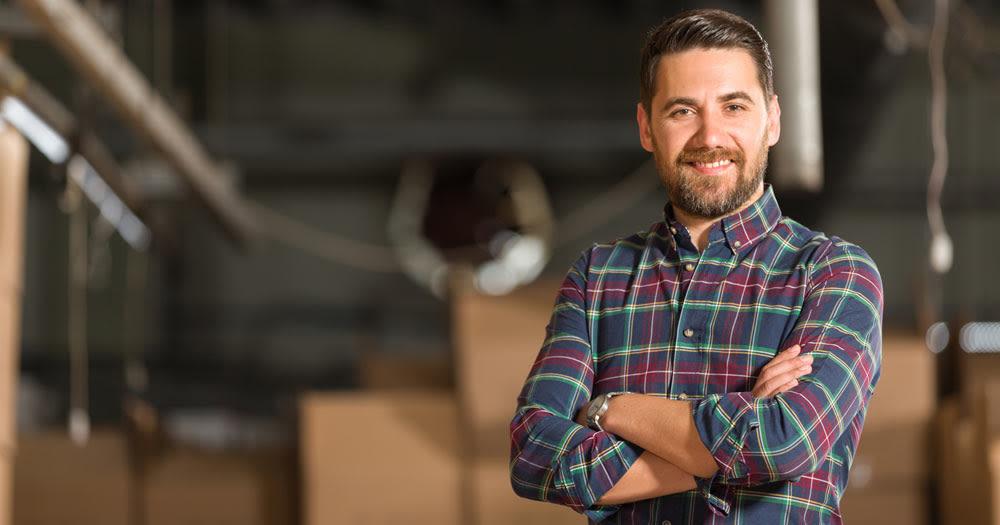 Man storing his belongings at Midgard Self Storage in Roswell, Georgia